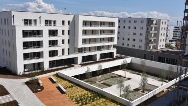 Opération AFFINITES, Bouygues Immobilier, Quartier Tanneries à Lingolsheim