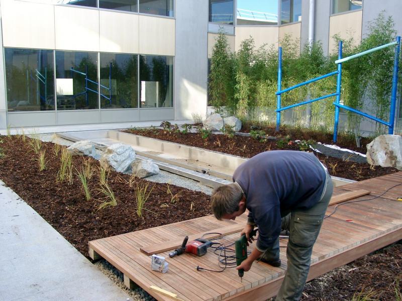 Am nagement urbain scop espaces verts am nagement et for Amenagement jardin urbain